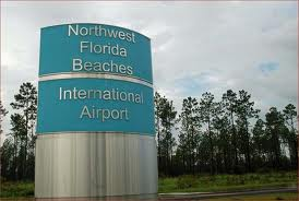 """Northwest Florida Beaches International Airport, ECP Airport, Panama City Beach FL"""